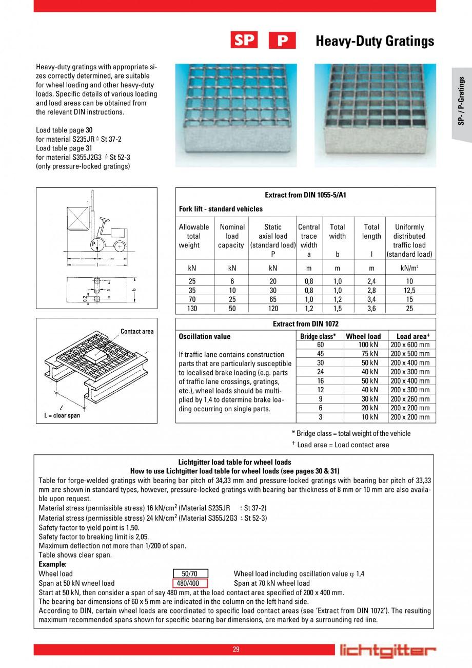 Pagina 29 - Scari si trepte metalice LICHTGITTER RO LG Special, LG Standard Catalog, brosura Engleza...