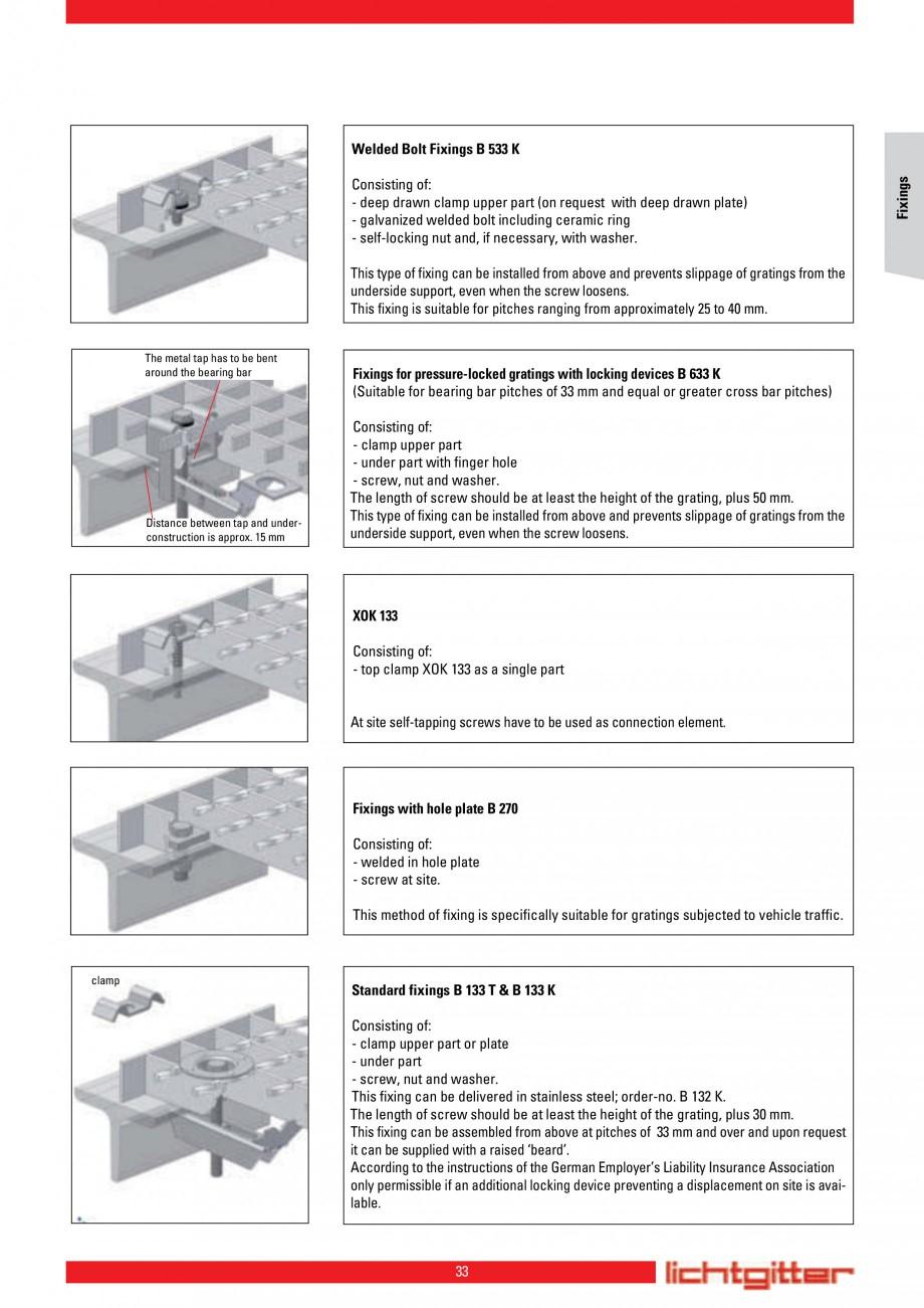 Pagina 33 - Scari si trepte metalice LICHTGITTER RO LG Special, LG Standard Catalog, brosura Engleza...