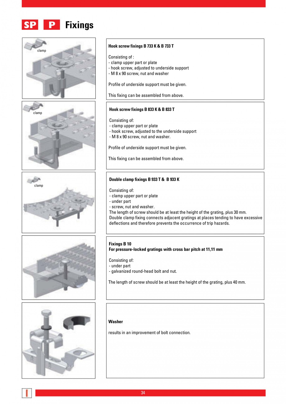 Pagina 34 - Scari si trepte metalice LICHTGITTER RO LG Special, LG Standard Catalog, brosura Engleza...