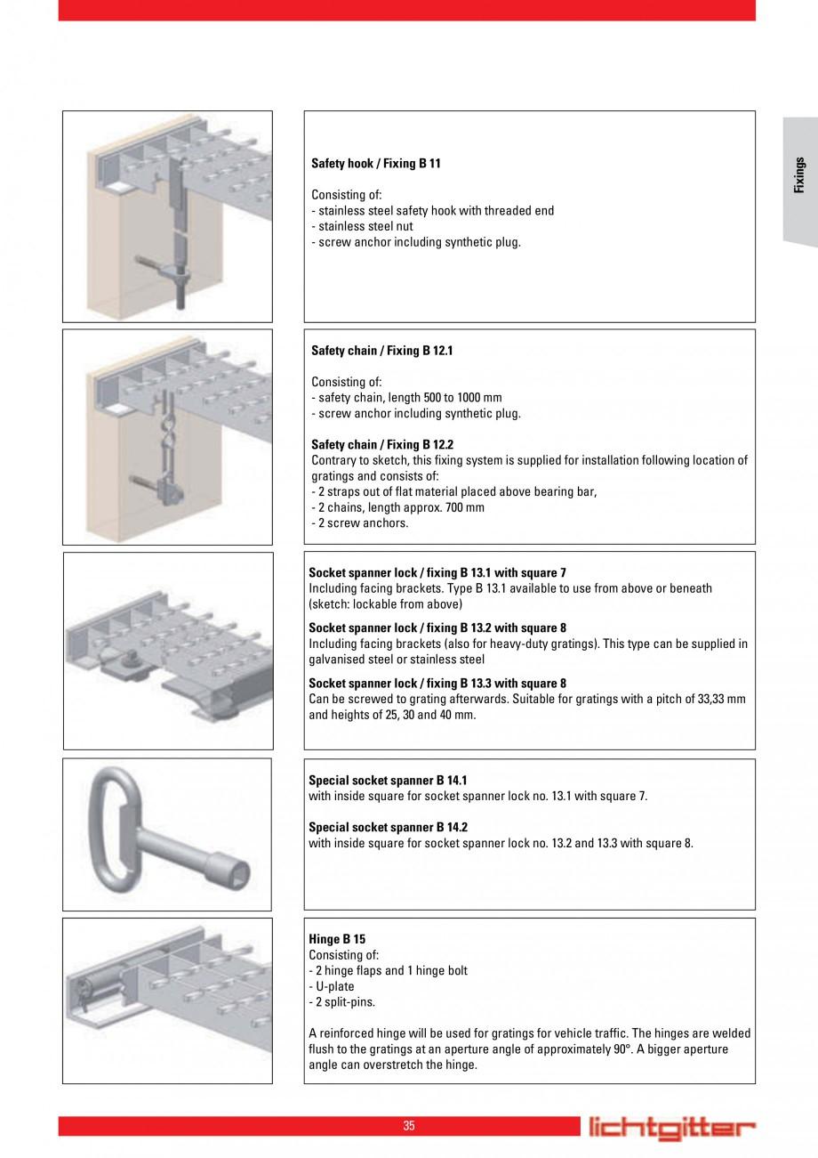 Pagina 35 - Scari si trepte metalice LICHTGITTER RO LG Special, LG Standard Catalog, brosura Engleza...