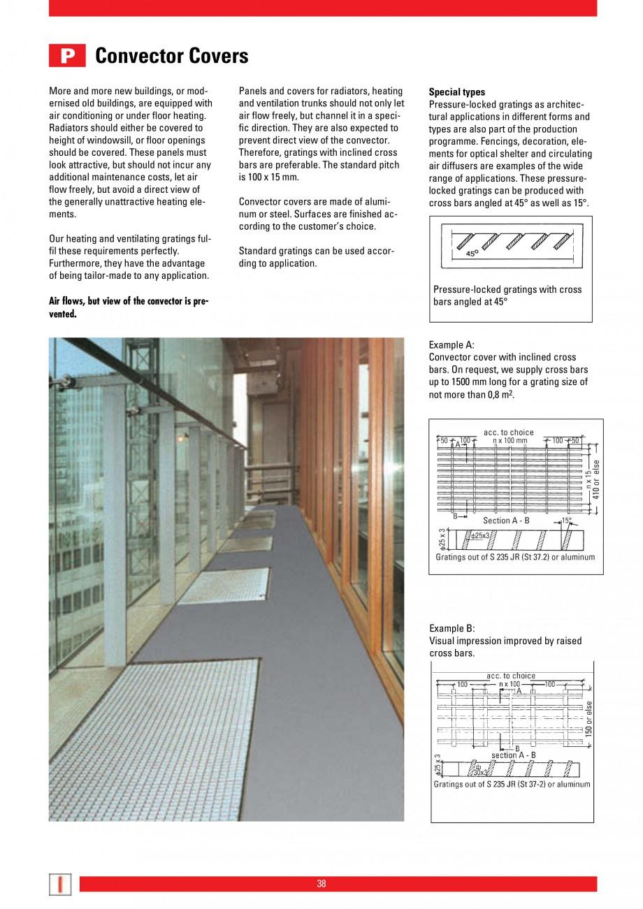 Pagina 38 - Scari si trepte metalice LICHTGITTER RO LG Special, LG Standard Catalog, brosura Engleza...