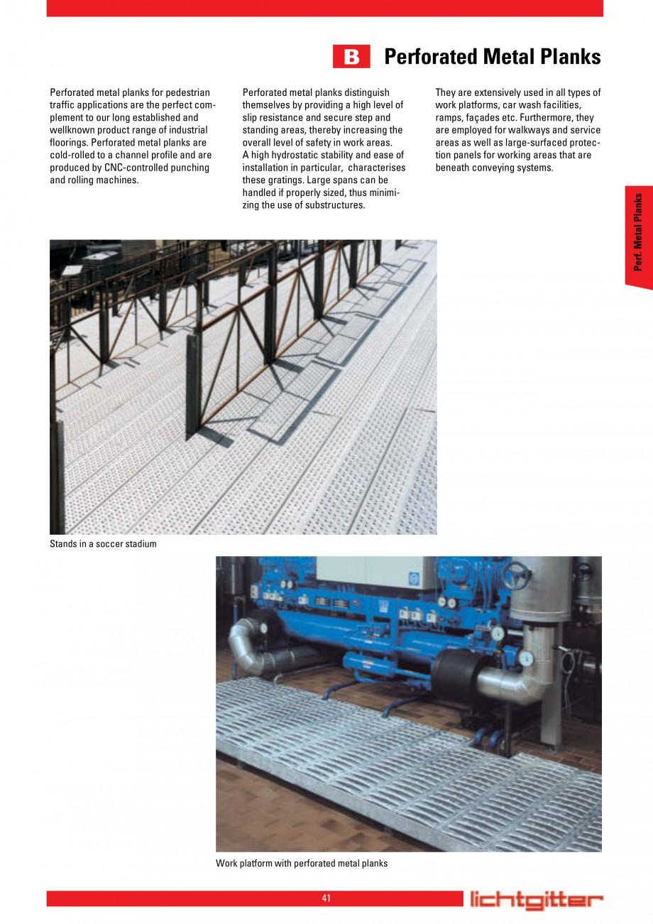 Pagina 41 - Scari si trepte metalice LICHTGITTER RO LG Special, LG Standard Catalog, brosura Engleza...