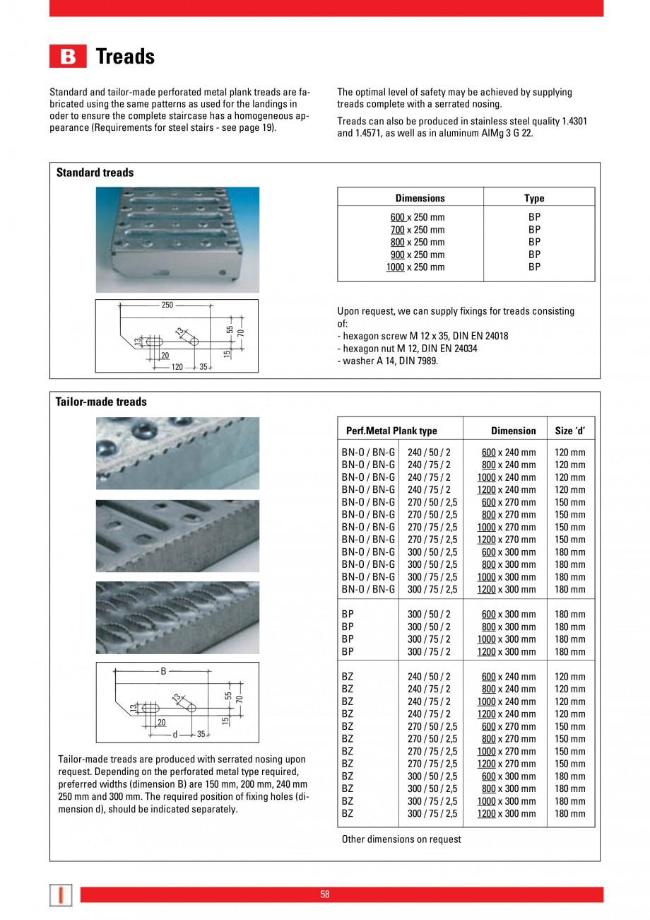 Pagina 58 - Scari si trepte metalice LICHTGITTER RO LG Special, LG Standard Catalog, brosura Engleza...