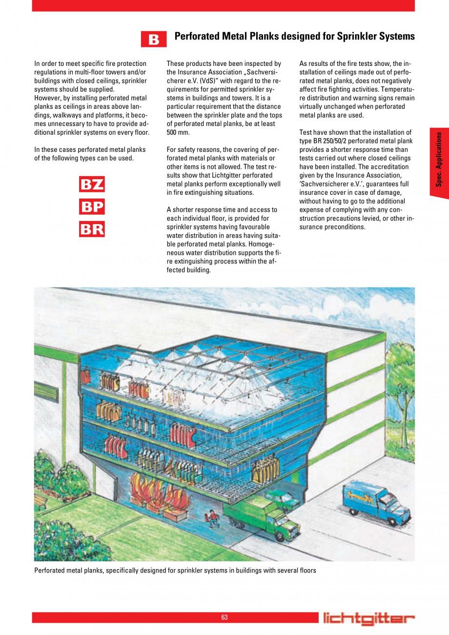 Pagina 63 - Scari si trepte metalice LICHTGITTER RO LG Special, LG Standard Catalog, brosura Engleza...