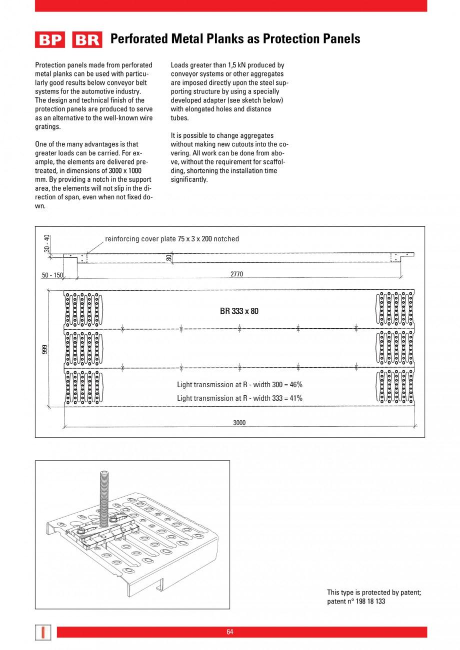 Pagina 64 - Scari si trepte metalice LICHTGITTER RO LG Special, LG Standard Catalog, brosura Engleza...