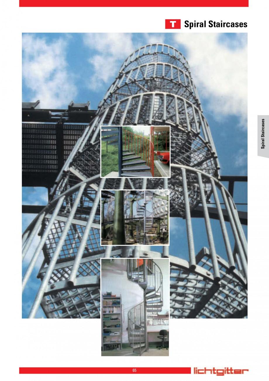 Pagina 65 - Scari si trepte metalice LICHTGITTER RO LG Special, LG Standard Catalog, brosura Engleza...