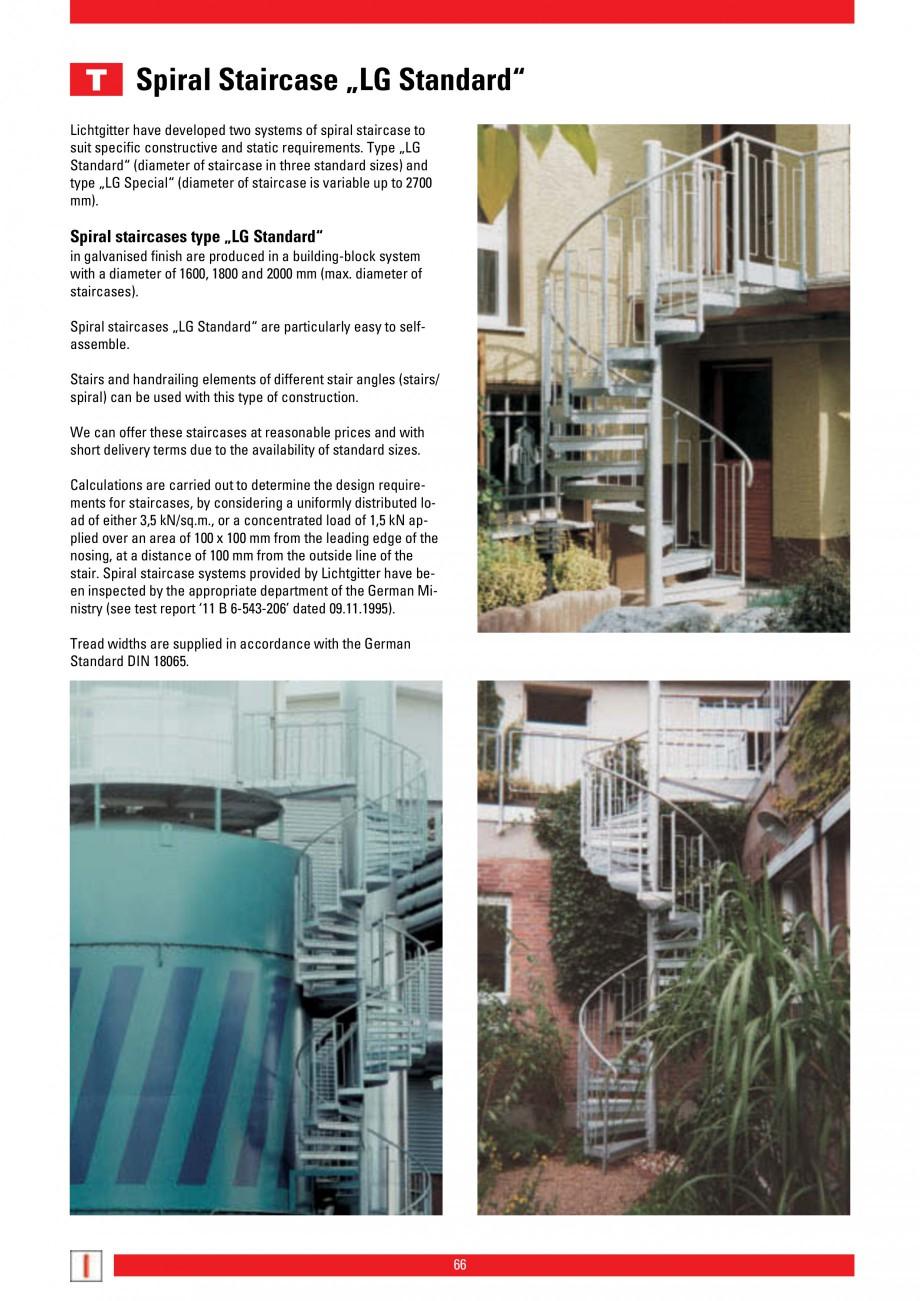 Pagina 66 - Scari si trepte metalice LICHTGITTER RO LG Special, LG Standard Catalog, brosura Engleza...
