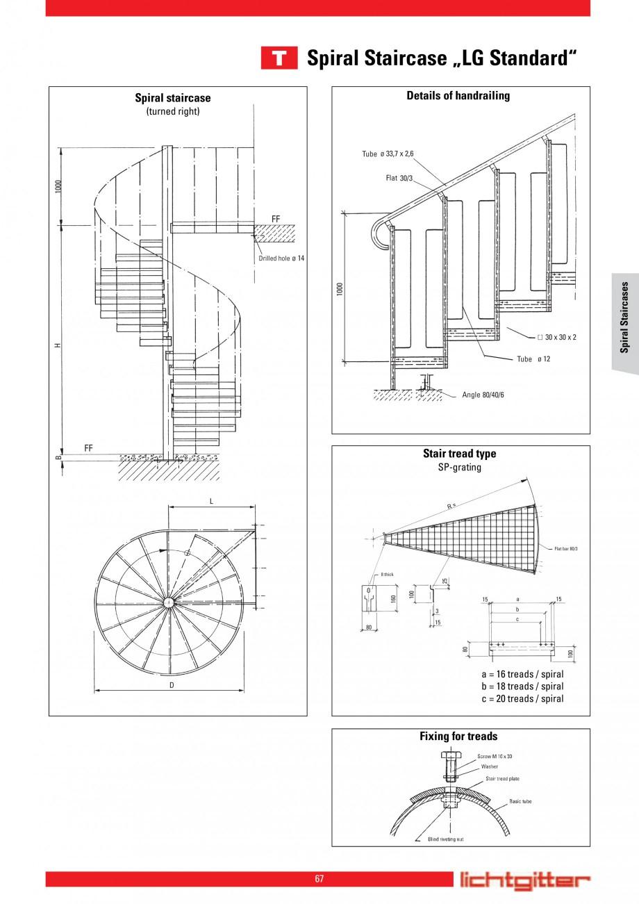 Pagina 67 - Scari si trepte metalice LICHTGITTER RO LG Special, LG Standard Catalog, brosura Engleza...