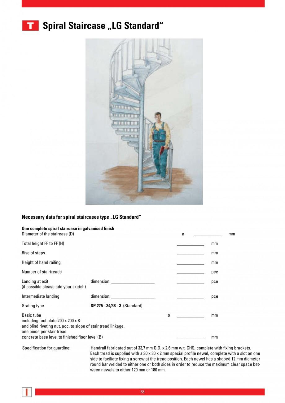 Pagina 68 - Scari si trepte metalice LICHTGITTER RO LG Special, LG Standard Catalog, brosura Engleza...