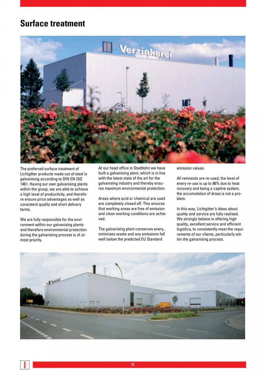 Pagina 78 - Scari si trepte metalice LICHTGITTER RO LG Special, LG Standard Catalog, brosura Engleza...