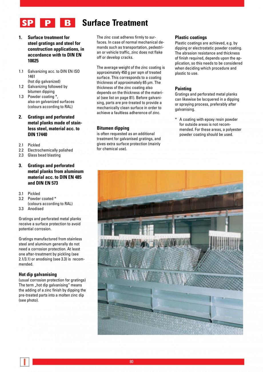 Pagina 80 - Scari si trepte metalice LICHTGITTER RO LG Special, LG Standard Catalog, brosura Engleza...