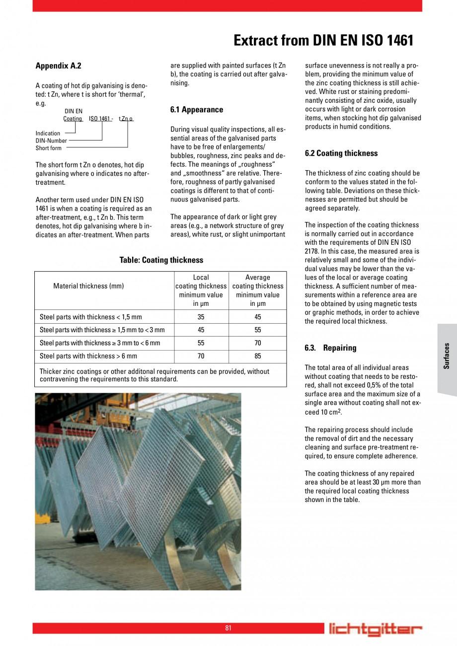 Pagina 81 - Scari si trepte metalice LICHTGITTER RO LG Special, LG Standard Catalog, brosura Engleza...
