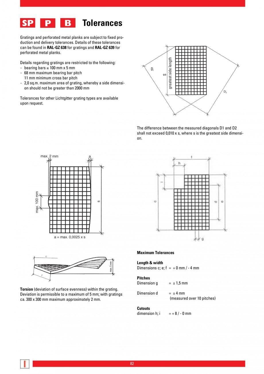 Pagina 82 - Scari si trepte metalice LICHTGITTER RO LG Special, LG Standard Catalog, brosura Engleza...