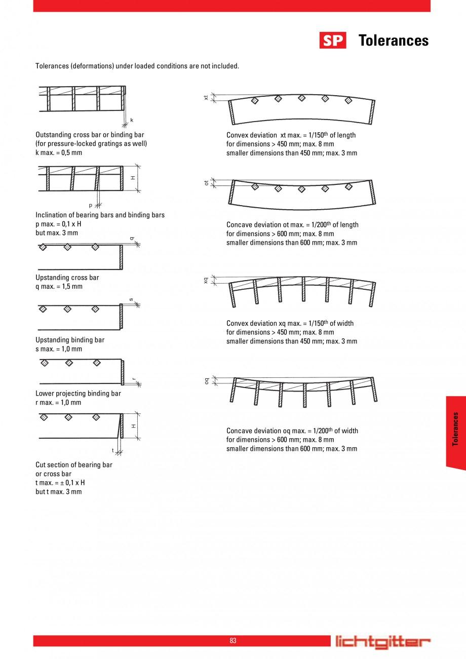 Pagina 83 - Scari si trepte metalice LICHTGITTER RO LG Special, LG Standard Catalog, brosura Engleza...