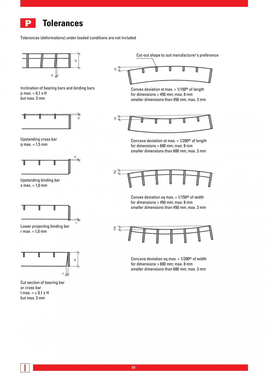 Pagina 84 - Scari si trepte metalice LICHTGITTER RO LG Special, LG Standard Catalog, brosura Engleza...