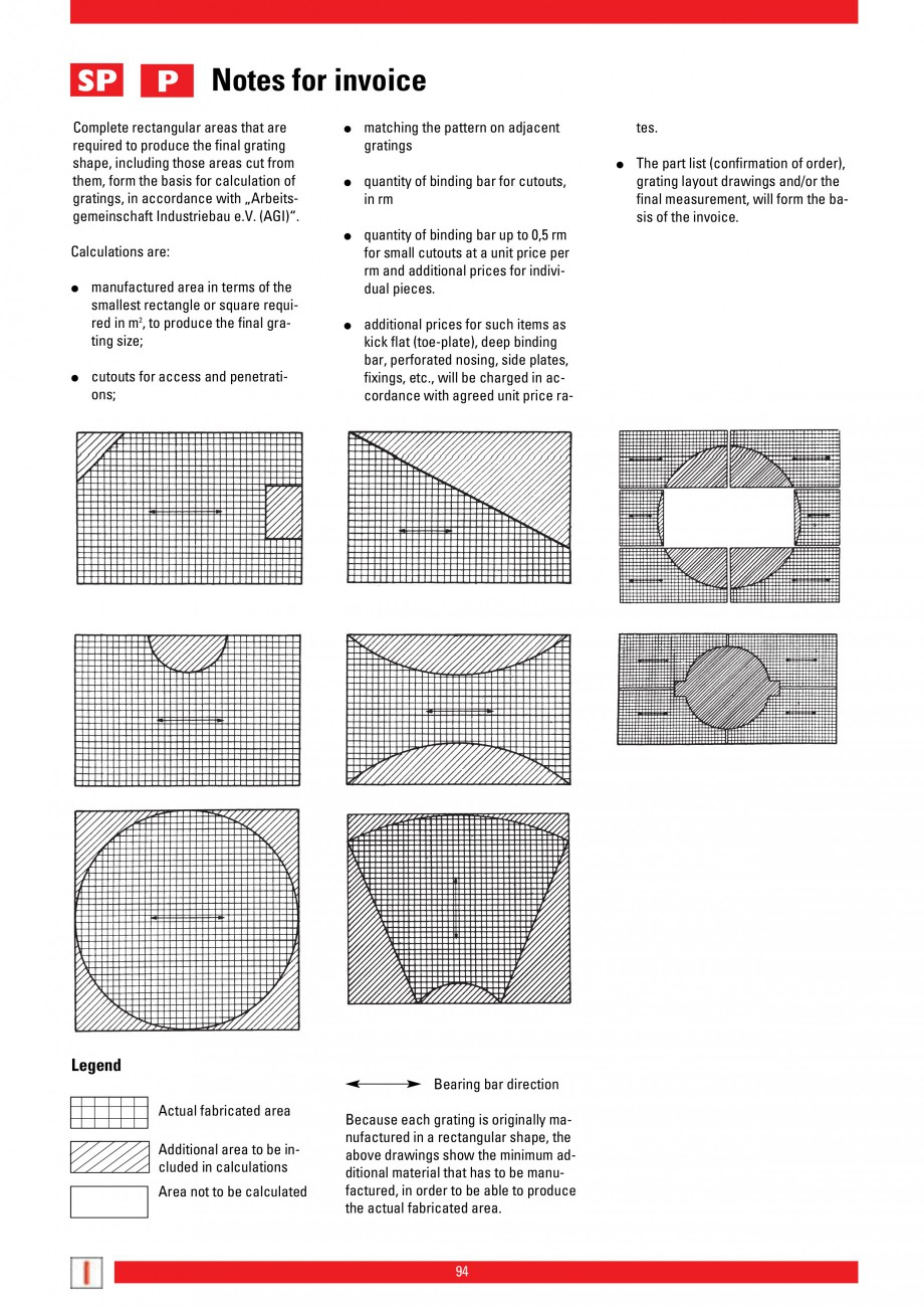 Pagina 94 - Scari si trepte metalice LICHTGITTER RO LG Special, LG Standard Catalog, brosura Engleza...