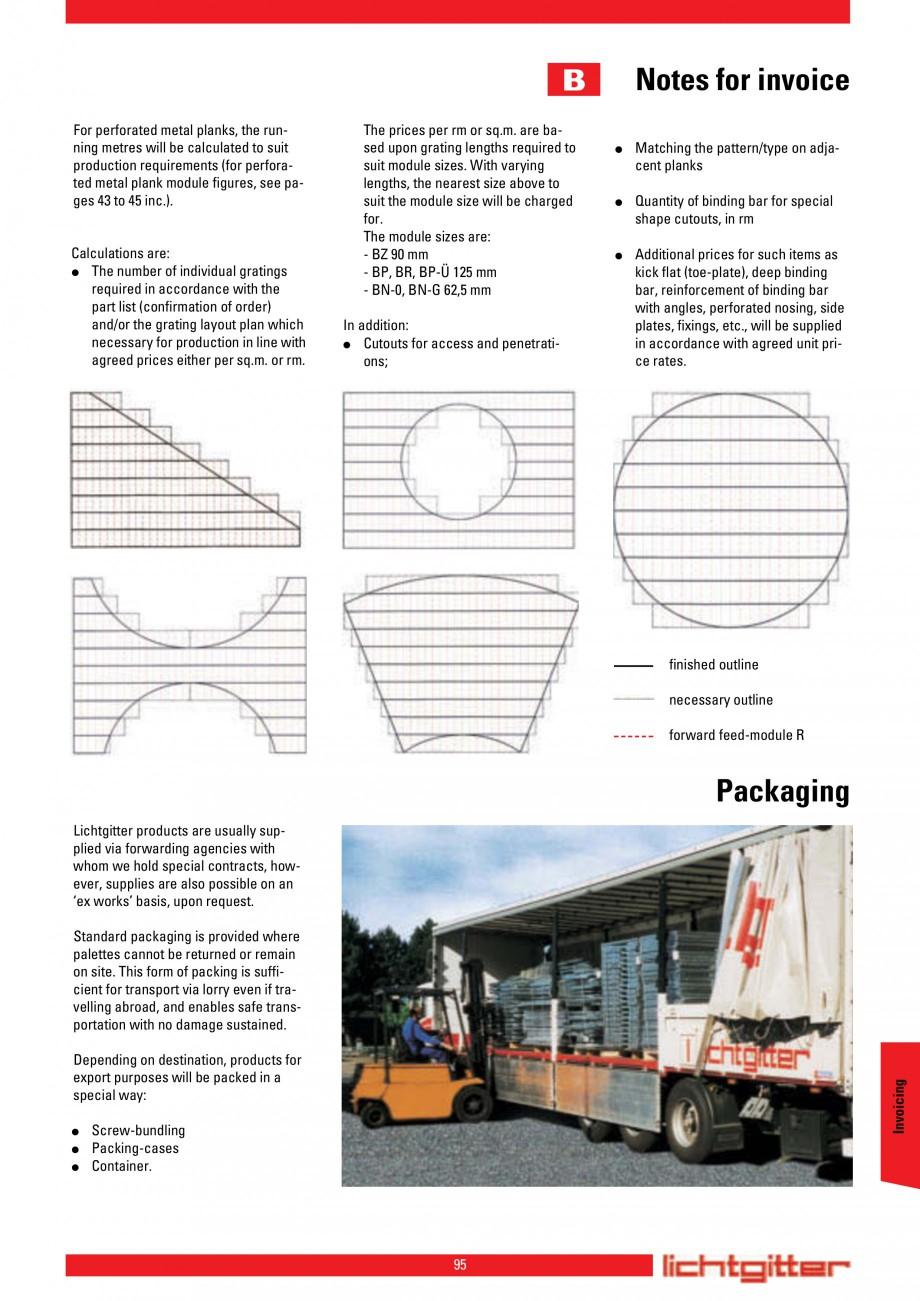 Pagina 95 - Scari si trepte metalice LICHTGITTER RO LG Special, LG Standard Catalog, brosura Engleza...