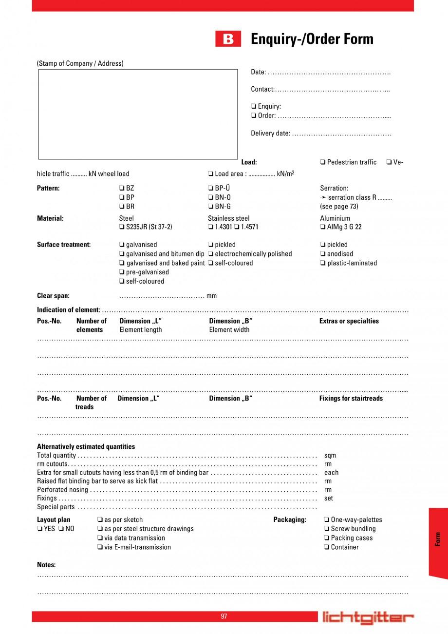 Pagina 97 - Scari si trepte metalice LICHTGITTER RO LG Special, LG Standard Catalog, brosura Engleza...