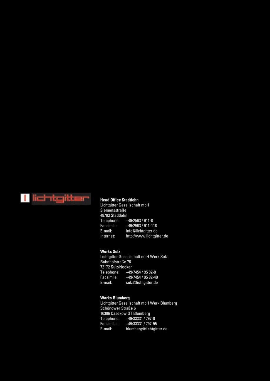 Pagina 100 - Scari si trepte metalice LICHTGITTER RO LG Special, LG Standard Catalog, brosura...