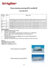 Tabele de incarcari pentru BP-H si BN-OF LICHTGITTER RO
