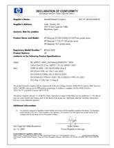 Declaratie de conformitate HP