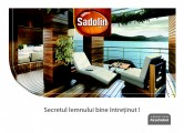 Lacuri pentru lemn - Catalog General Sadolin SADOLIN