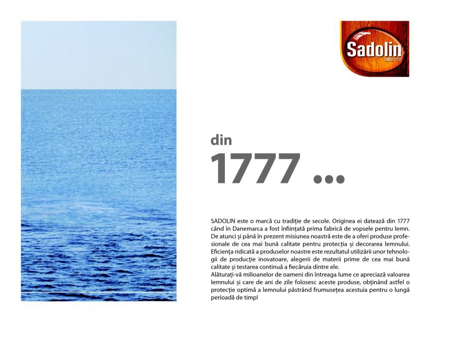 Pagina 3 - Secretul lemnului bine intretinut - Lacuri pentru lemn - Catalog General Sadolin SADOLIN ...