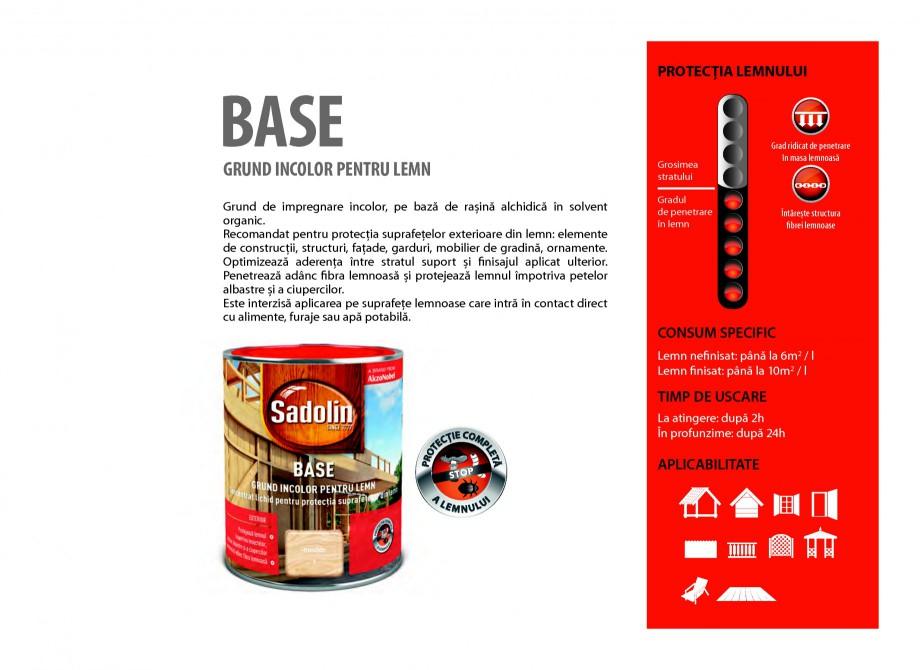 Pagina 13 - Secretul lemnului bine intretinut - Grunduri pentru lemn - Catalog general SADOLIN BASE ...