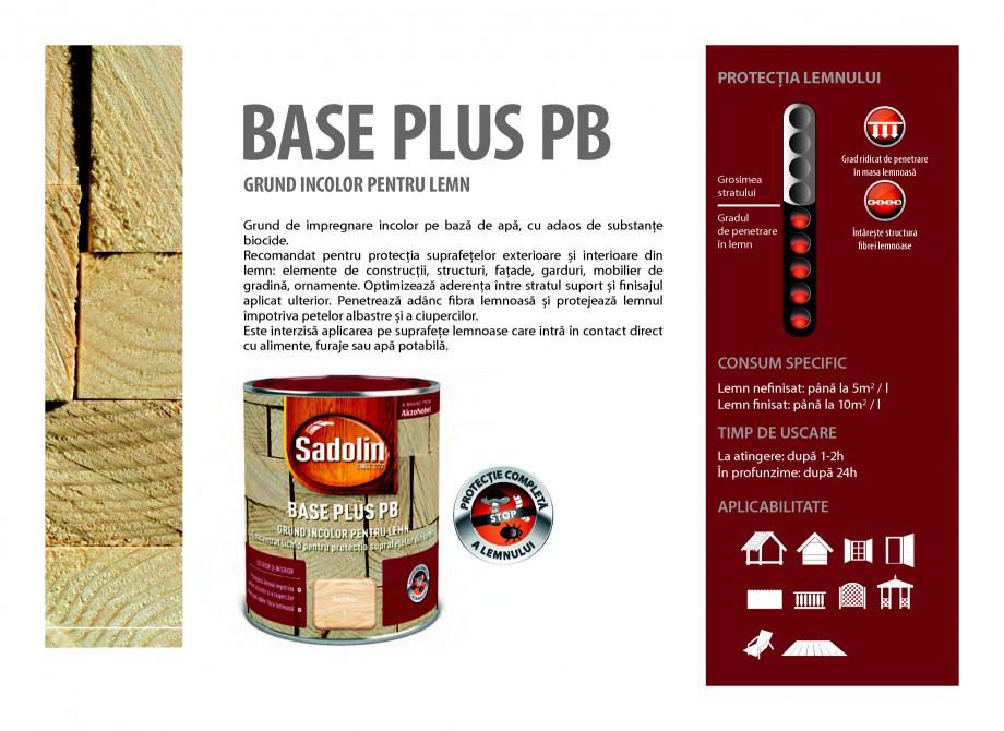 Pagina 21 - Secretul lemnului bine intretinut - Grunduri pentru lemn - Catalog general SADOLIN BASE ...