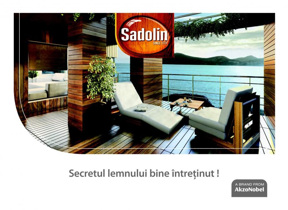 Pagina 1 - Secretul lemnului bine intretinut - Lazuri pentru lemn - Catalog general SADOLIN CLASSIC,...
