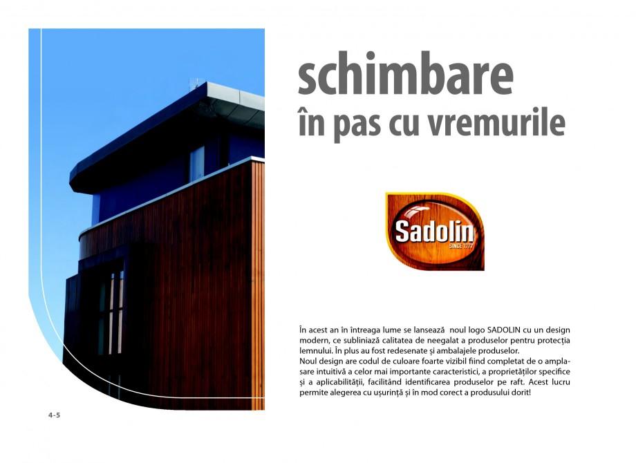 Pagina 4 - Secretul lemnului bine intretinut - Lazuri pentru lemn - Catalog general SADOLIN CLASSIC,...