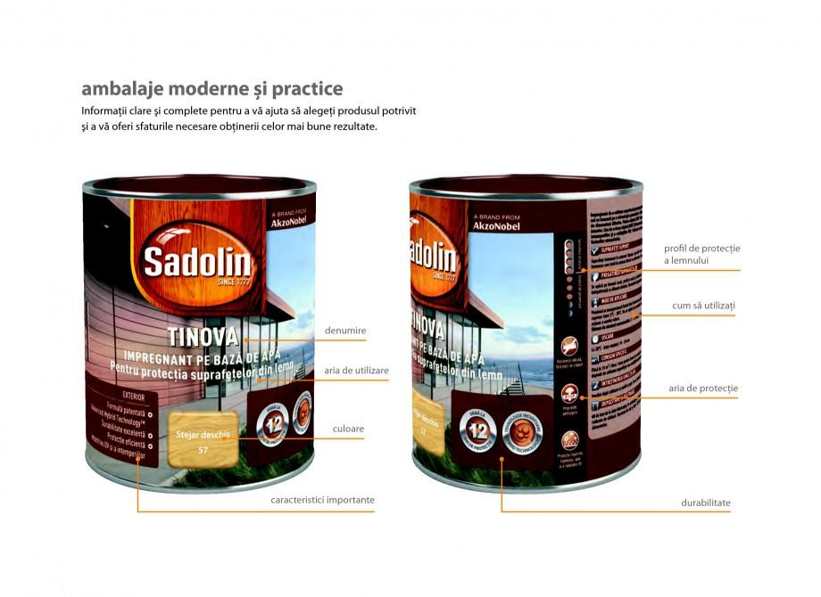 Pagina 5 - Secretul lemnului bine intretinut - Lazuri pentru lemn - Catalog general SADOLIN CLASSIC,...