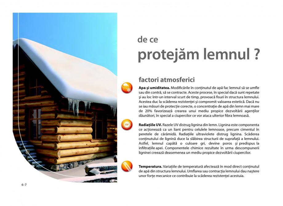Pagina 6 - Secretul lemnului bine intretinut - Lazuri pentru lemn - Catalog general SADOLIN CLASSIC,...