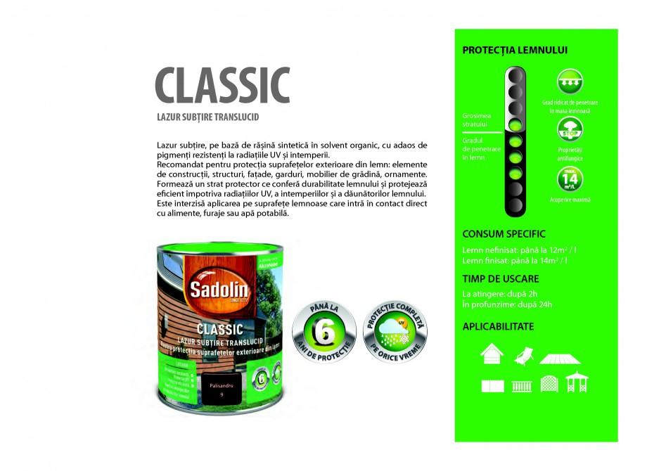 Pagina 15 - Secretul lemnului bine intretinut - Lazuri pentru lemn - Catalog general SADOLIN CLASSIC...
