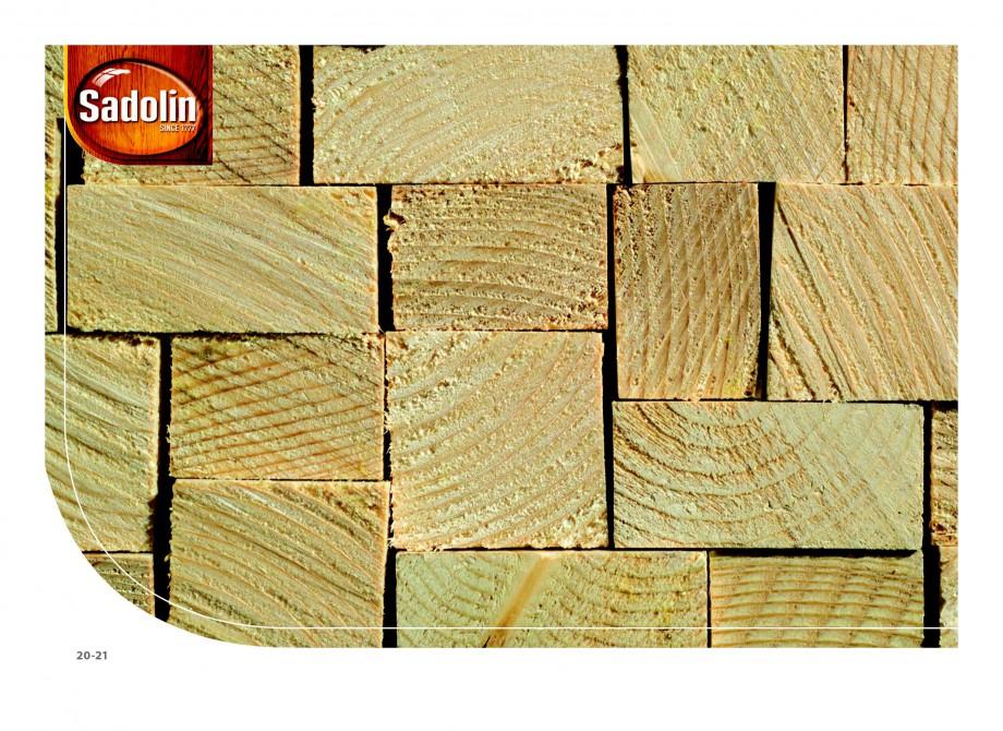 Pagina 20 - Secretul lemnului bine intretinut - Lazuri pentru lemn - Catalog general SADOLIN CLASSIC...