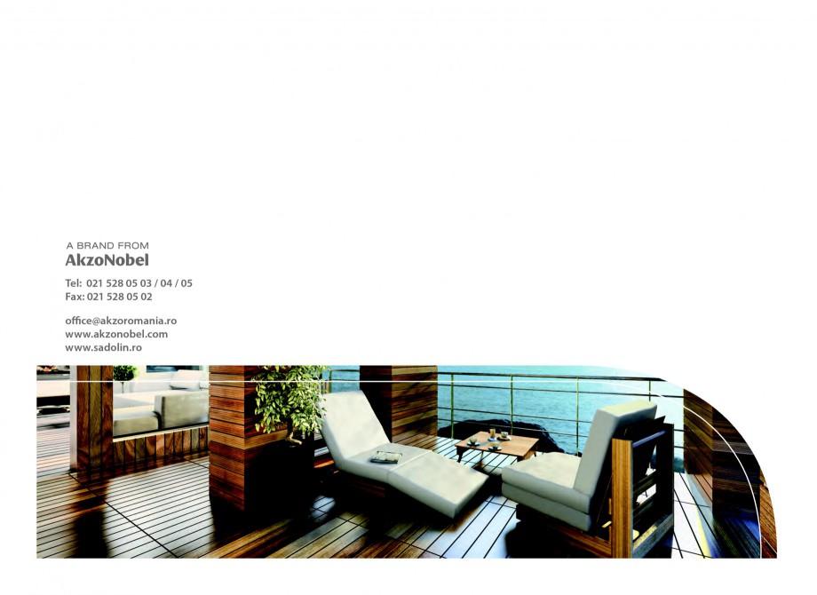 Pagina 40 - Secretul lemnului bine intretinut - Lazuri pentru lemn - Catalog general SADOLIN CLASSIC...