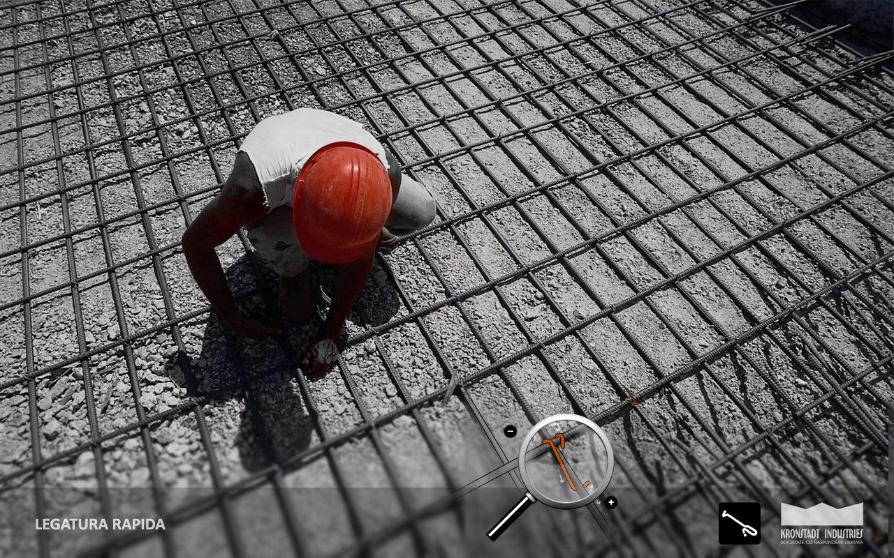Legatura Rapida pentru armaturile din otel beton KRONSTADT INDUSTRIES - Poza 7