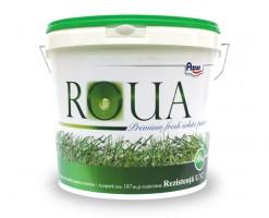 Vopsea superlavabila pentru exterior ROUA EXT- vopsea lavabila pentru exterior - produs pe baza de copolimeri acrilo-stirenici, pigmenti, materiale de umplutura si adjuvanti. Este un produs cu putere mare de acoperire, permeabilitate la vapori si impermeabilitate la apa, clasa I de lavabilitate, uscare rapida, rezistenta la actiunea fungiilor si mucegaiurilor. Are rezistenta mare UV si ofera o buna protectie la actiunea factorilor climatici. Dupa uscare formeaza o pelicula mata cu aspect placut.