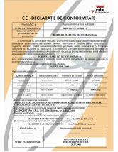 Declaratie de conformitate - Bordura mare din beton IBF
