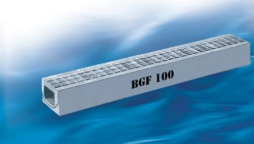 Prezentare produs BGF Rigole plate BG - Poza 1