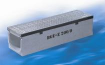 Rigole pentru trafic auto Rigole plate din beton cu muchii incastrate din fonta, inox sau otel zincat si un sistem inovator de fixare pentru instalare rapida.