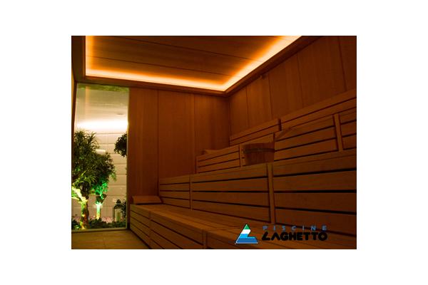 Sauna finlandeza LAGHETTO - Poza 5