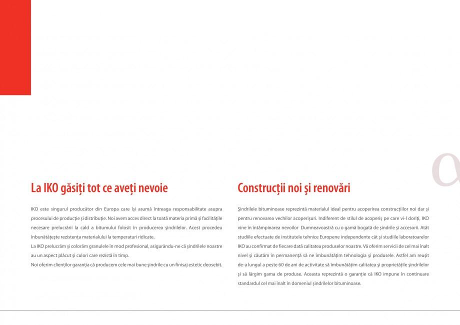 Pagina 6 - Sindrile bituminoase IKO Catalog, brosura Romana  IKO  granule reprezintă o protecţie...