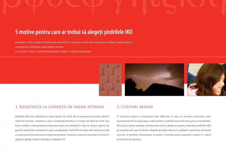 Pagina 8 - Sindrile bituminoase IKO Catalog, brosura Romana e Parcul Molenheide - Belgium  Gar...