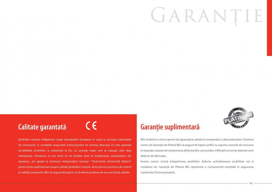 Pagina 11 - Sindrile bituminoase IKO Catalog, brosura Romana