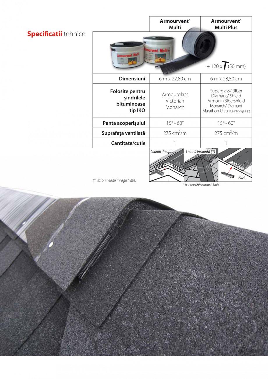 Pagina 4 - Calcularea suprafetei nete de ventilatie IKO ARMOURVENT MULTI Fisa tehnica Romana rul...