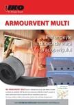Ventilatie permanenta pentru acoperis cu sindrila bituminoasa IKO - ARMOURVENT MULTI