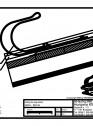 Tabla plana pentru invelitori titan zinc - Carlig de siguranta sistem Bjarnes - 2D