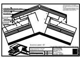 Tabla plana pentru invelitori titan zinc - Coama acoperisului in doua ape, cu ventilare - 2D RHEINZINK