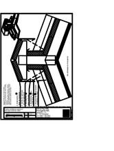 Tabla plana pentru invelitori titan zinc - Coama acoperisului in doua ape, cu ventilare - varianta inalta - 2D RHEINZINK